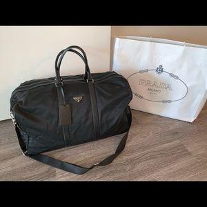 Prada Bags Reduced Auth Nylon Tessuto Evening Bag Poshmark
